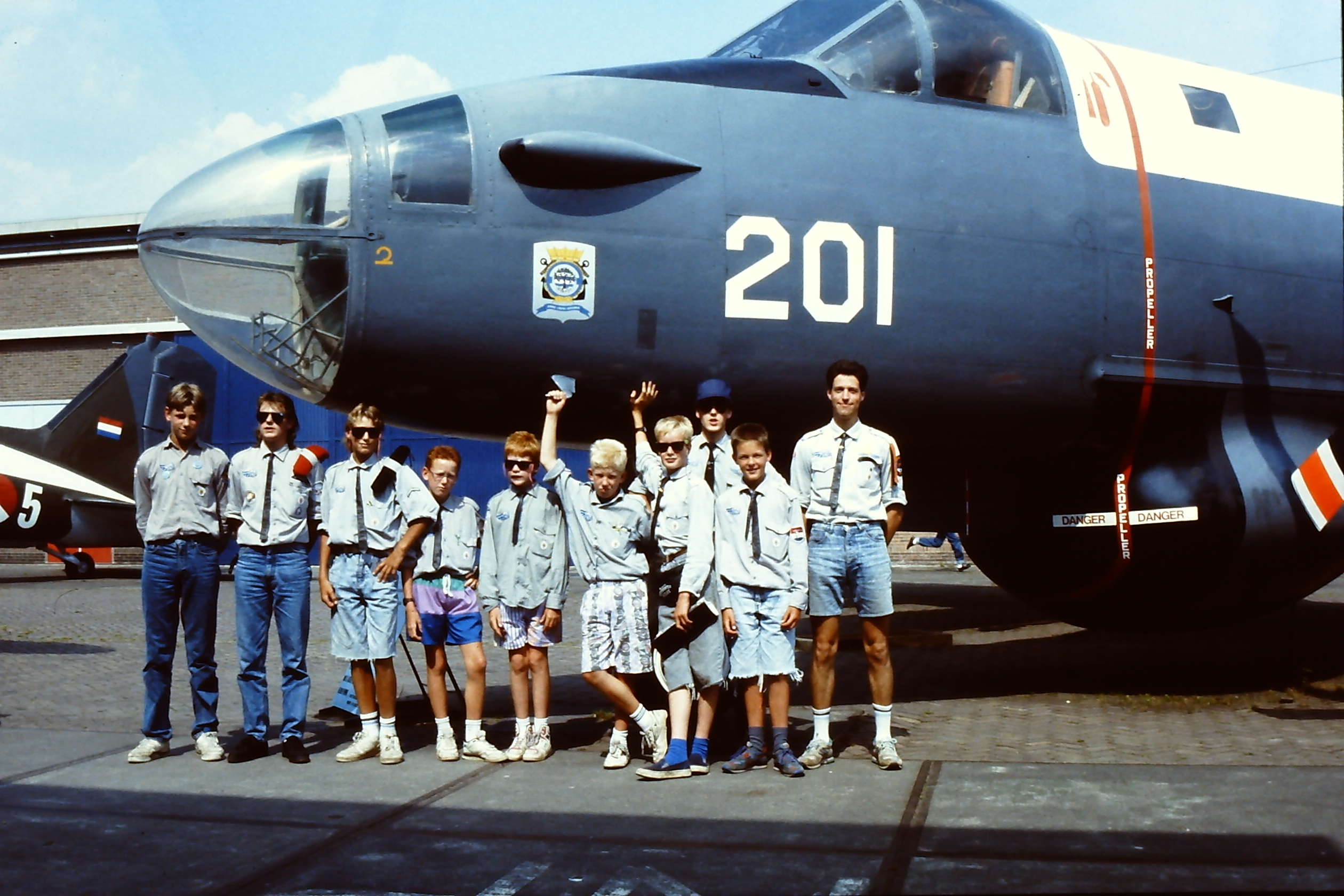 1991 Luchtscouts Kamp Hilversum
